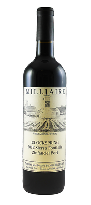 2012 Clockspring Zinfandel Port
